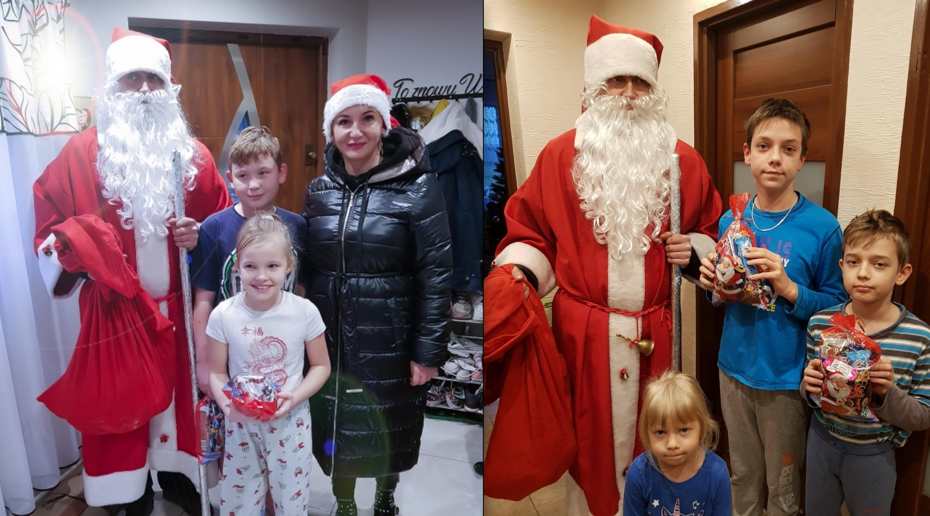 GMINA ŁUKÓW Św. Mikołaj zawitał do Aleksandrowa - Zdjęcie główne