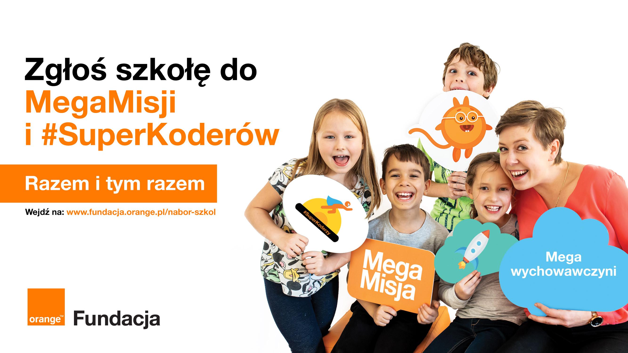 Fundacja Orange chce wspierać uczniów i nauczycieli  - Zdjęcie główne