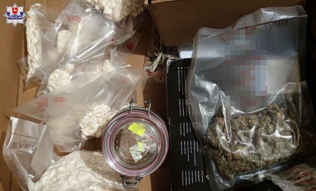 Narkotyki w piwnicy w Lublinie - Zdjęcie główne