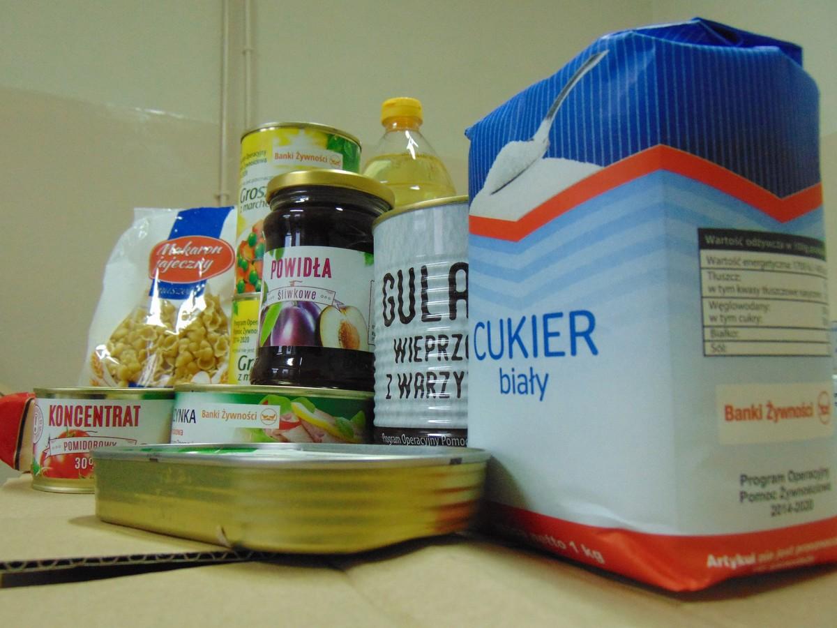 GMINA KRZYWDA Pomoc żywnościowa dla najbardziej potrzebujących - Zdjęcie główne