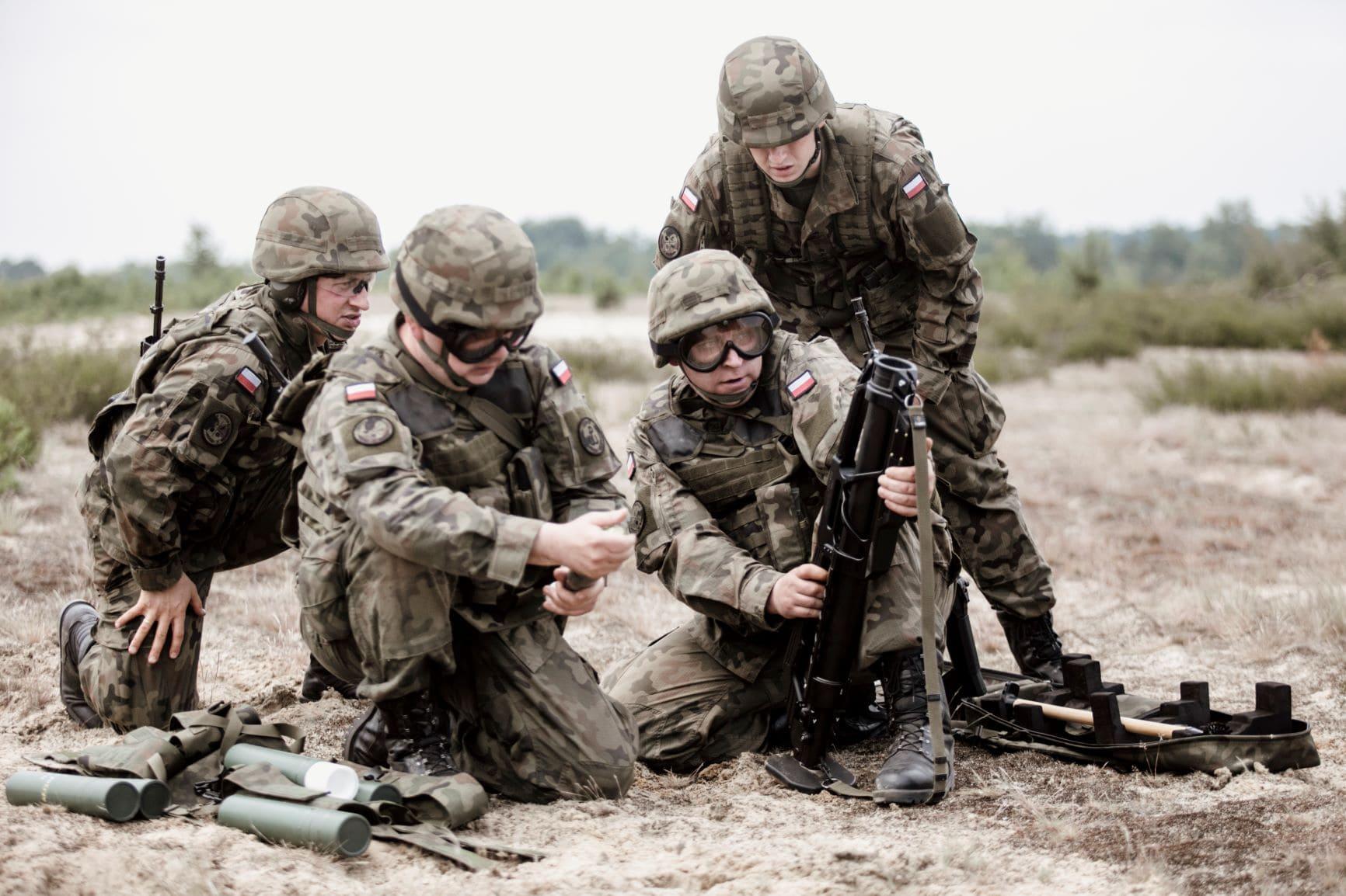 Województwo lubelskie: Terytorialsi szkolą się na podkarpackim poligonie - Zdjęcie główne