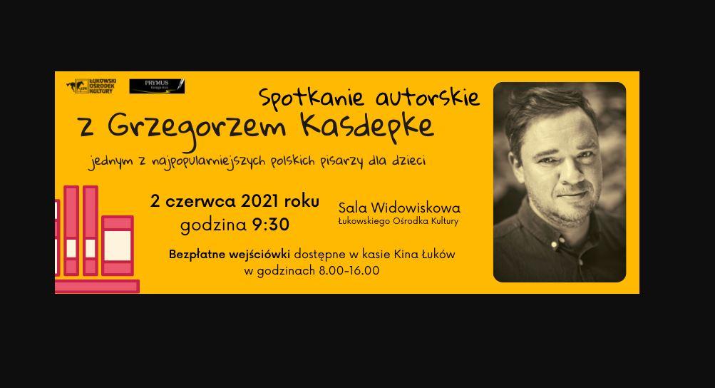 Spotkanie autorskie z Grzegorzem Kasdepke. Już 2 czerwca w ŁOK - Zdjęcie główne