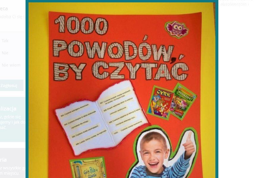 GMINA SEROKOMLA Zespół Szkół w Serokomli wygrał 1000 książek oraz czytniki do e-booków - Zdjęcie główne