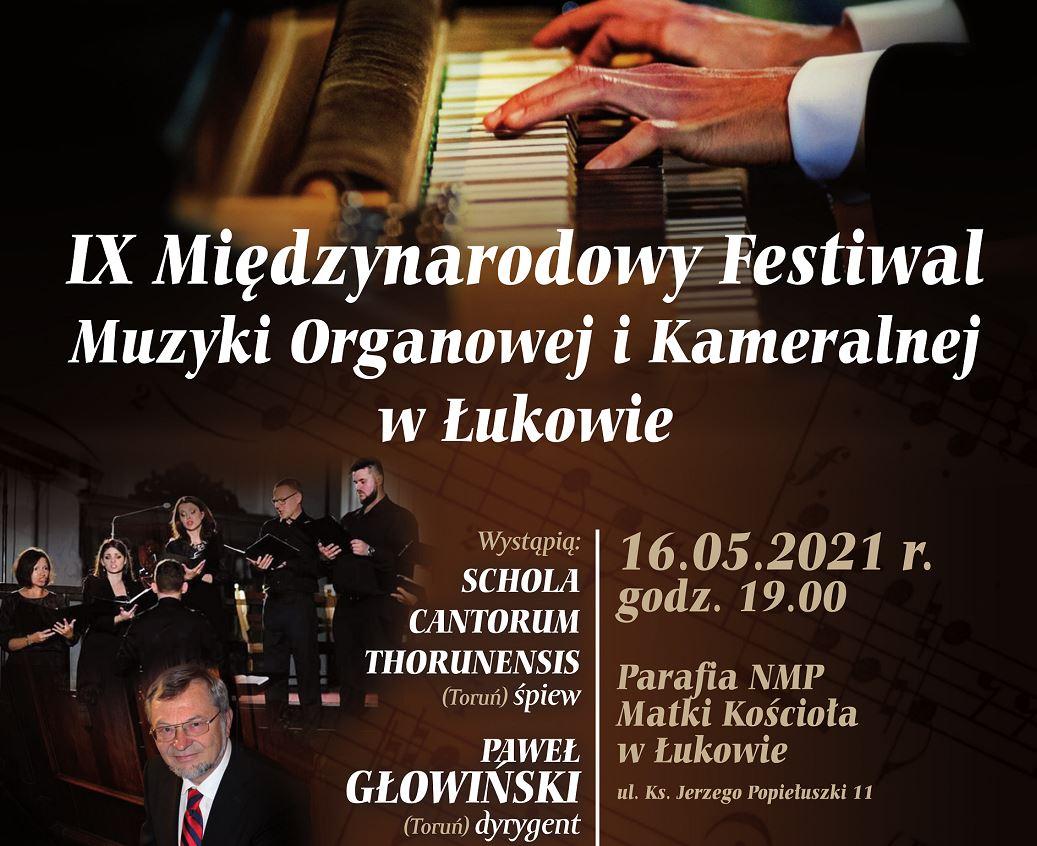Pierwszy koncert IX Międzynarodowego Festiwalu Muzyki Organowej i Kameralnej w Łukowie  - Zdjęcie główne