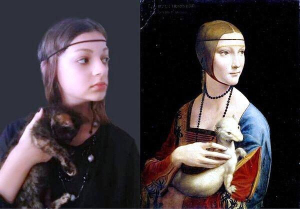 Gmina Łuków: Uczniowskie interpretacje słynnych dzieł sztuki  (GALERIA) - Zdjęcie główne