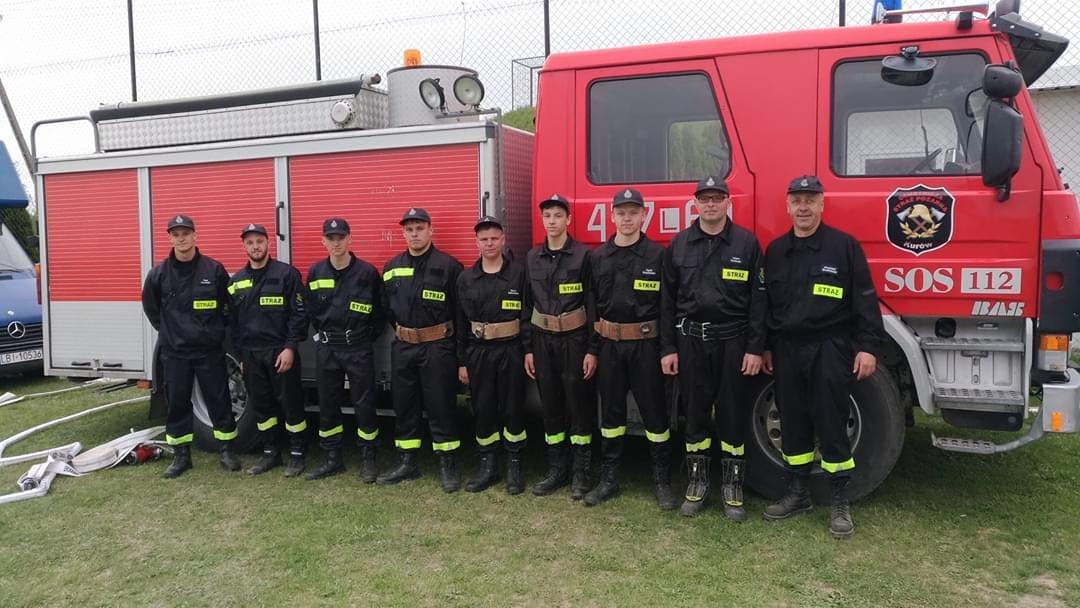 GMINA TRZEBIESZÓW Strażacy z OSP Kurów mają nowy sprzęt - Zdjęcie główne