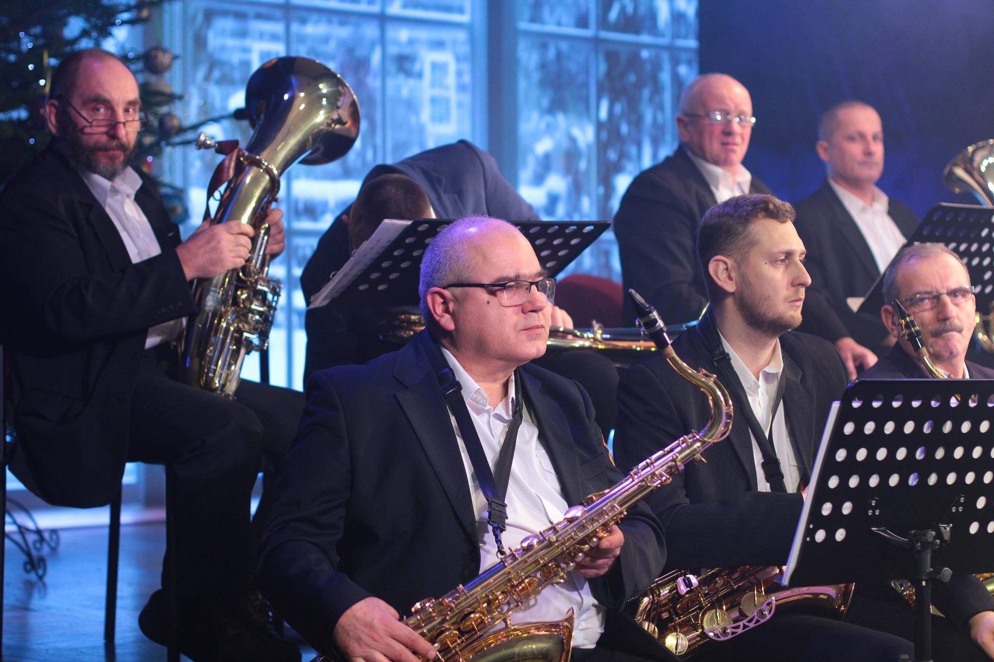 Kolędowanie z Łukowską Orkiestrą Dętą on-line (GALERIA) - Zdjęcie główne