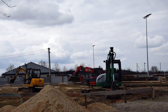 STANIN. Ruszyła budowa sali gimnastycznej w Zastawiu (GALERIA) - Zdjęcie główne