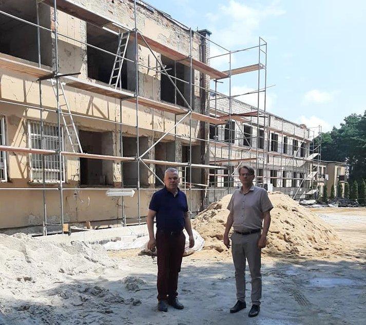 Remont Ośrodka Zdrowia w Stoczku Łukowskim - Zdjęcie główne