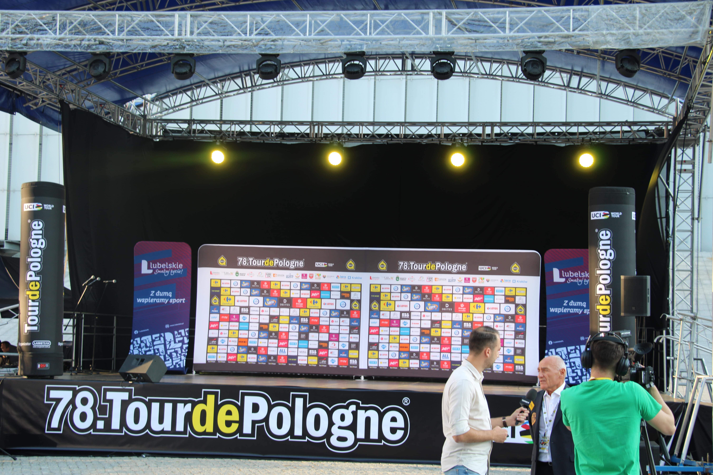 Województwo lubelskie: Startuje Tour de Pologne. Prezentacja ekip za nami [GALERIA] - Zdjęcie główne