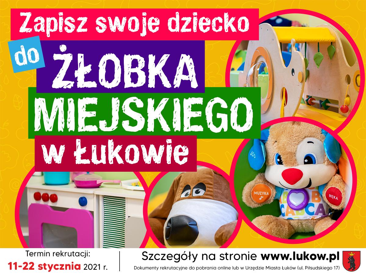 Rusza rekrutacja do łukowskiego żłobka  - Zdjęcie główne