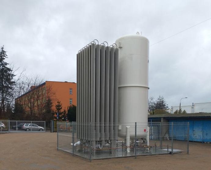 Szpital w Łukowie ma nowy zbiornik na tlen  - Zdjęcie główne
