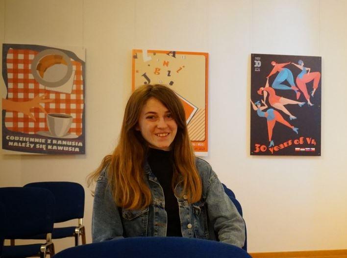 Wystawa plakatów Magdaleny Dylak w Galerii PROwizorium   - Zdjęcie główne