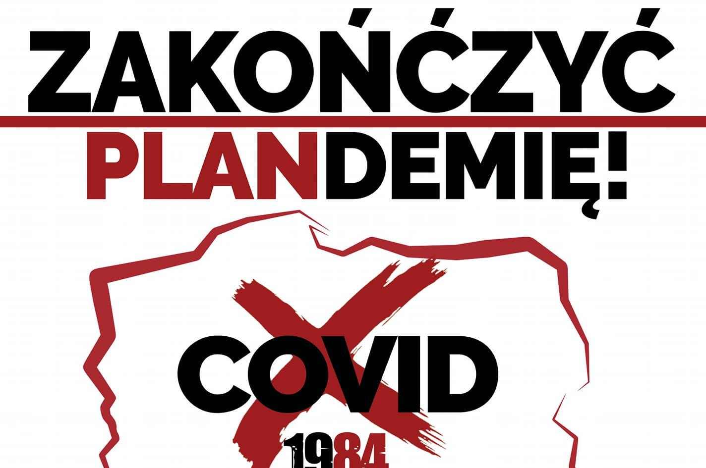 """Protest """"Zakończyć Plandemię"""" już 12 września w Warszawie. """"Zdejmij maskę"""" - zachęcają organizatorzy  - Zdjęcie główne"""