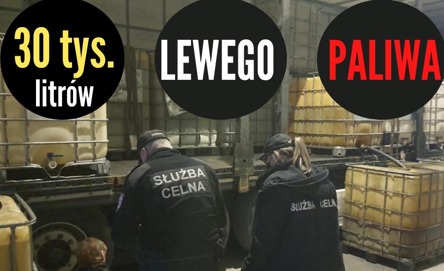 POWIAT 30 TYS. LITRÓW LEWEGO PALIWA (WIDEO) - Zdjęcie główne