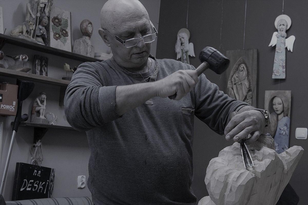 ŁUKÓW. Zmarł Piotr Czubaszek artysta i rzeźbiarz ludowy - Zdjęcie główne