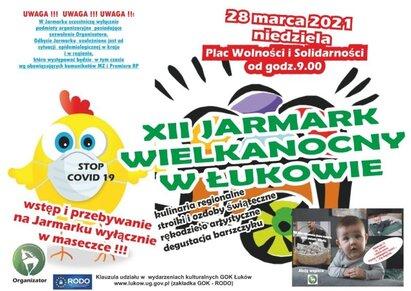 Gmina Łuków: Jarmark wielkanocny w reżimie sanitarnym - Zdjęcie główne