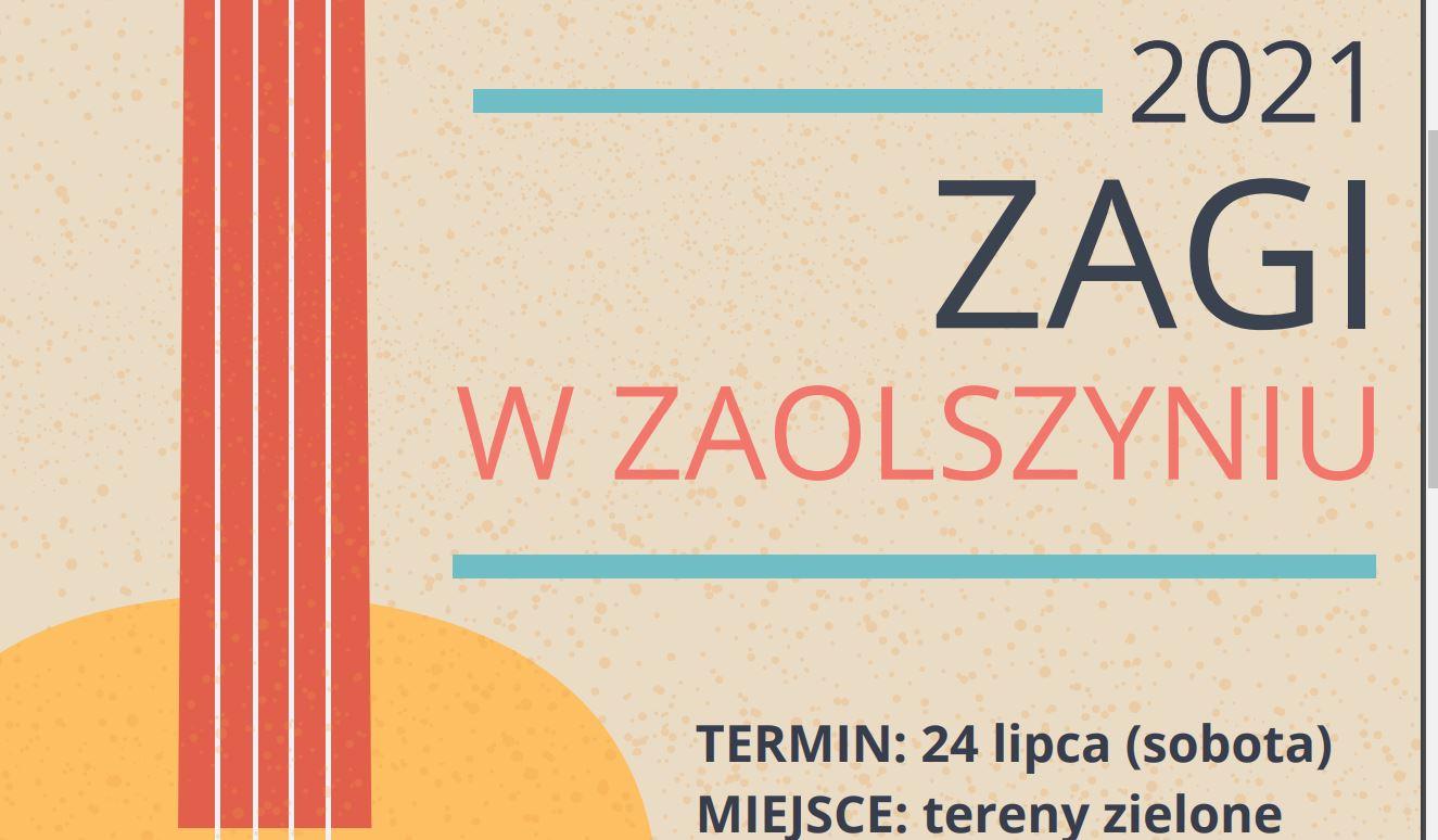 Scena Muzyczna GOK Trzebieszów: Zagi zagra w Zaolszyniu - Zdjęcie główne