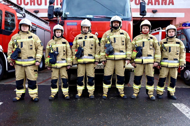 Strażacy ze Stoczka i Celin dostali nowy sprzęt  - Zdjęcie główne