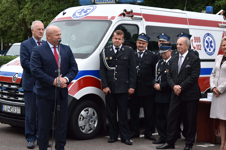 Województwo lubelskie: Strażacy dostali karetki - Zdjęcie główne