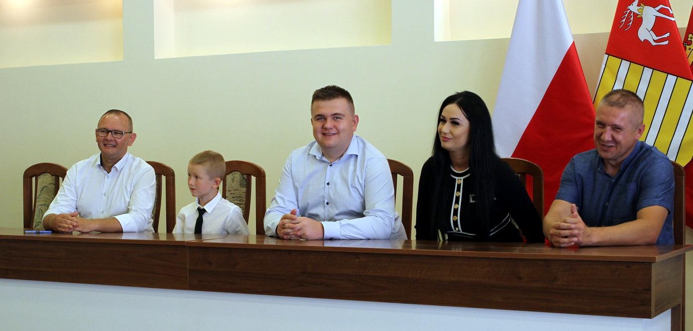6-letni Dawid Głowniak pełnił przez jeden dzień obowiązki burmistrza Łukowa (ZDJĘCIA) - Zdjęcie główne