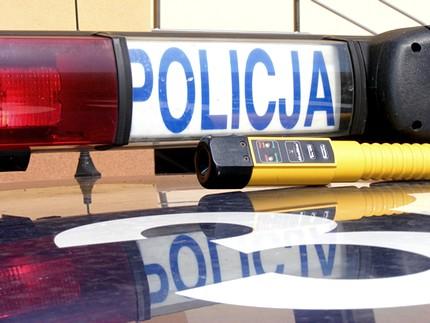 Pijany kierowca dachował w Jedlance - Zdjęcie główne