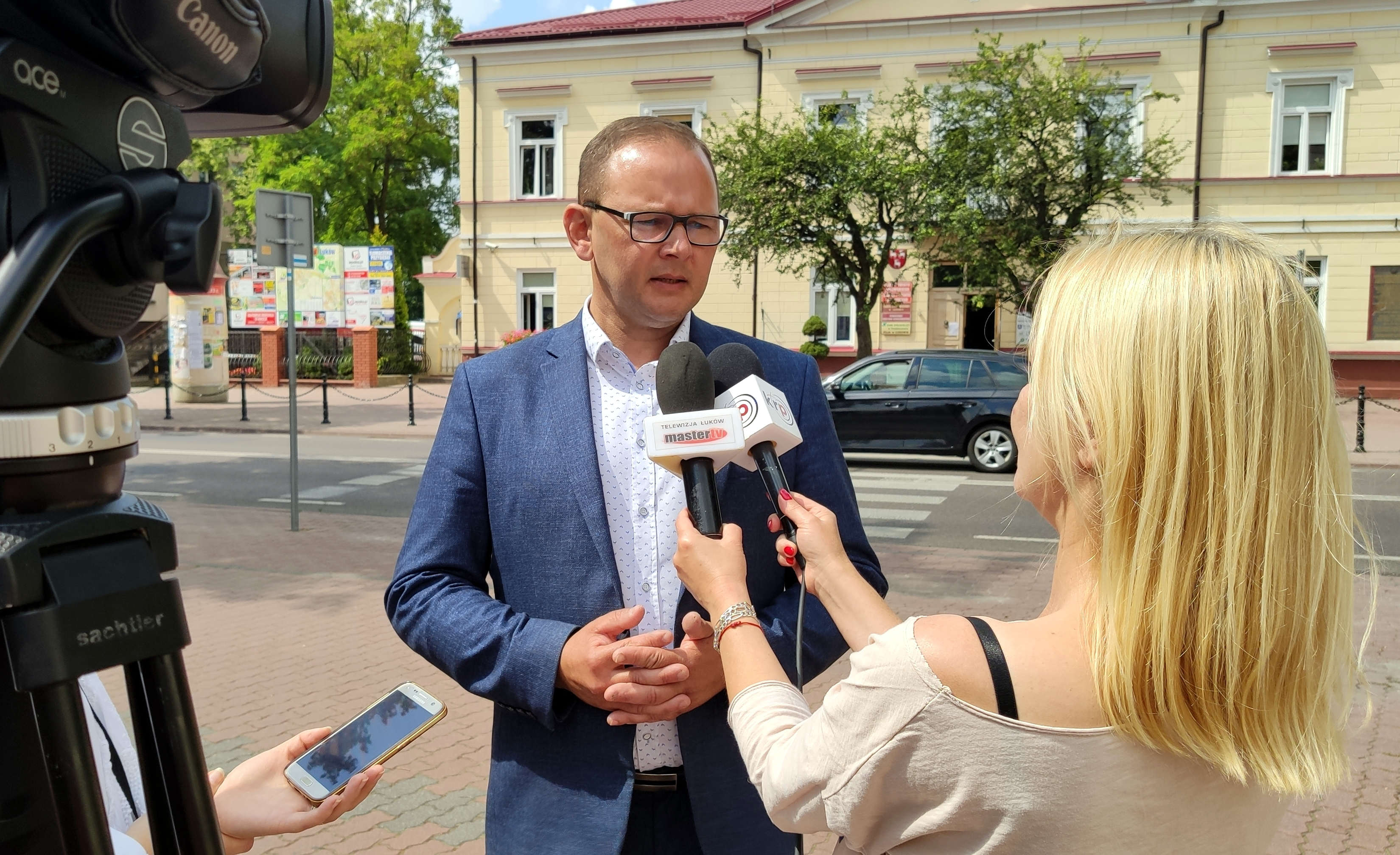 ŁUKOW Burmistrz zakażony koronawirusem. Wiemy jak się czuje  - Zdjęcie główne