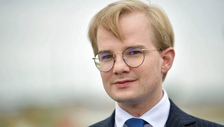 Piotr Patkowski, Wiceminister Finansów,  z wizytą w Łukowie - Zdjęcie główne