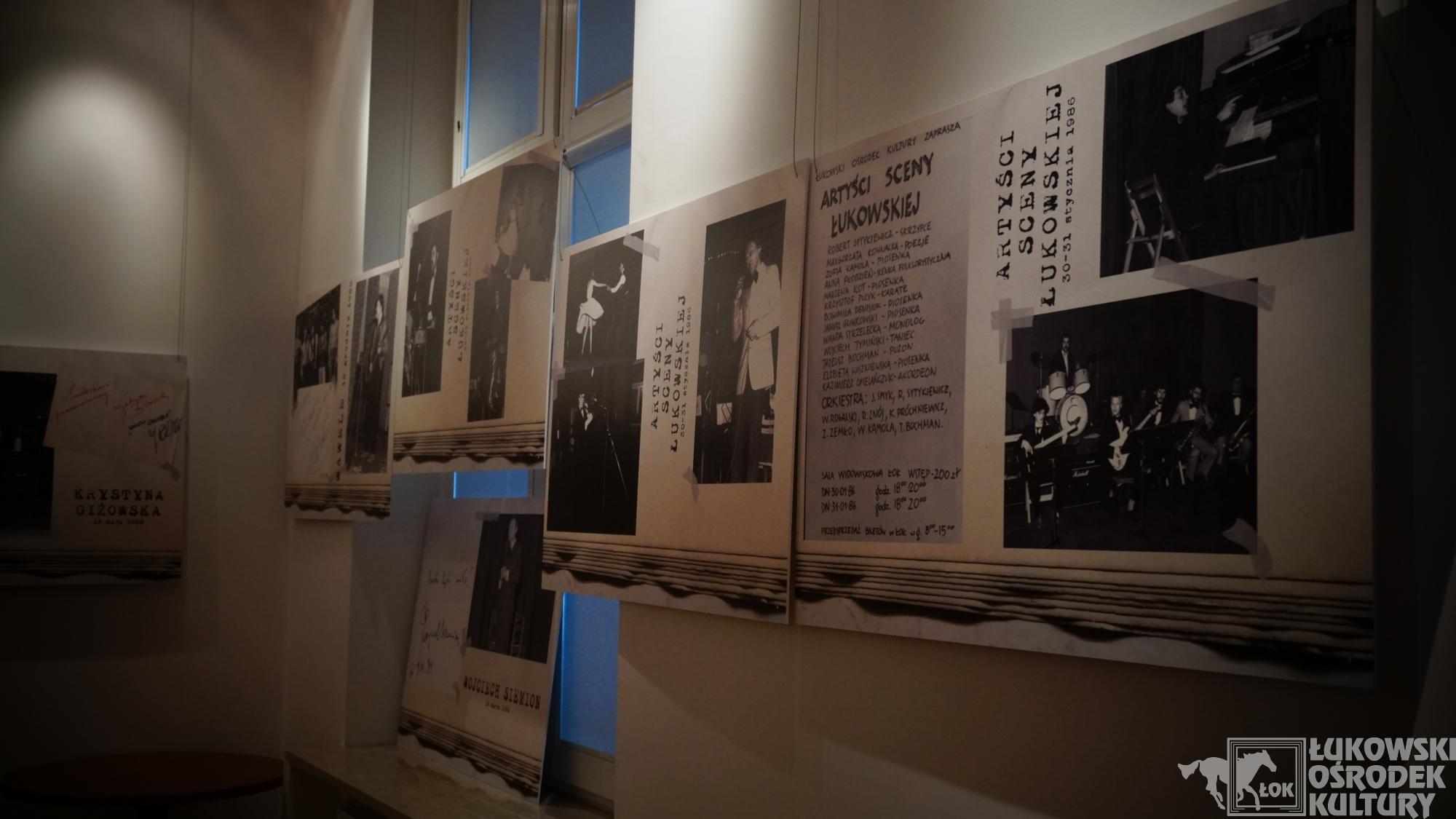 """Wystawa """"Cała wstecz /Estrada/ 1980-1989"""". - Zdjęcie główne"""
