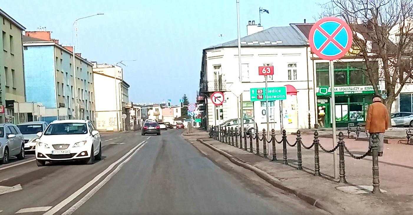 ŁUKÓW. Ruszyły wiosenne remonty miejskich ulic (WIDEO) - Zdjęcie główne