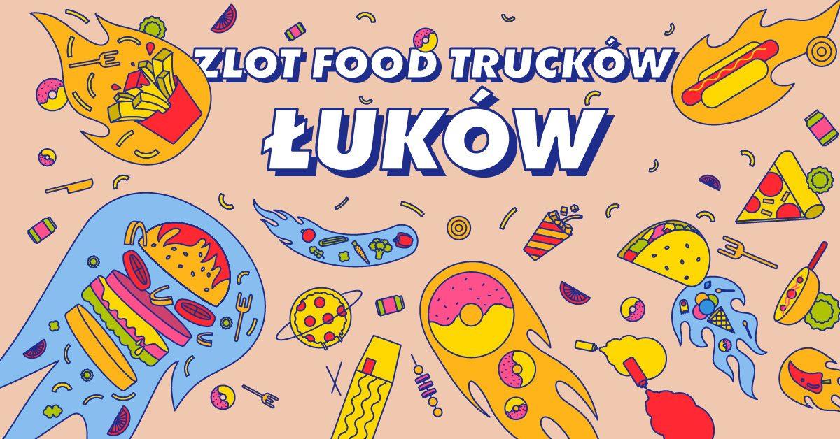 Wielki powrót food trucków do Łukowa - Zdjęcie główne