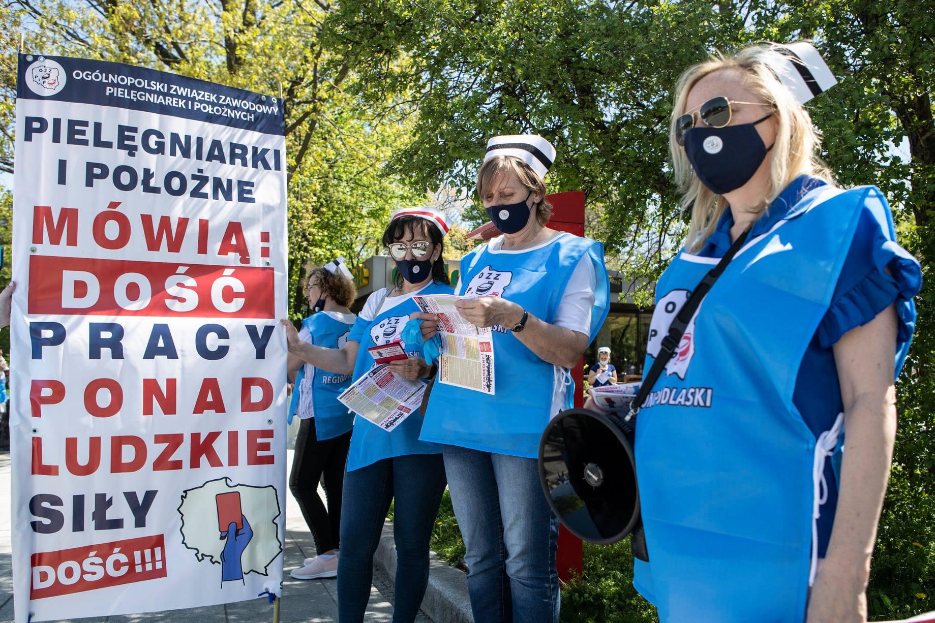 ŁUKÓW Strajk pielęgniarek. Znamy termin i postulaty  - Zdjęcie główne