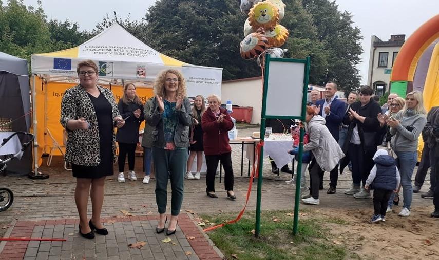 Nowy plac zabaw w Woli Mysłowskiej. Dzieciaki są zachwycone (ZDJĘCIA) - Zdjęcie główne