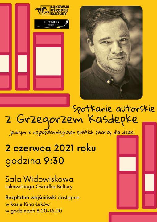 Spotkanie z pisarzem Grzegorzem Kasdepke - Zdjęcie główne