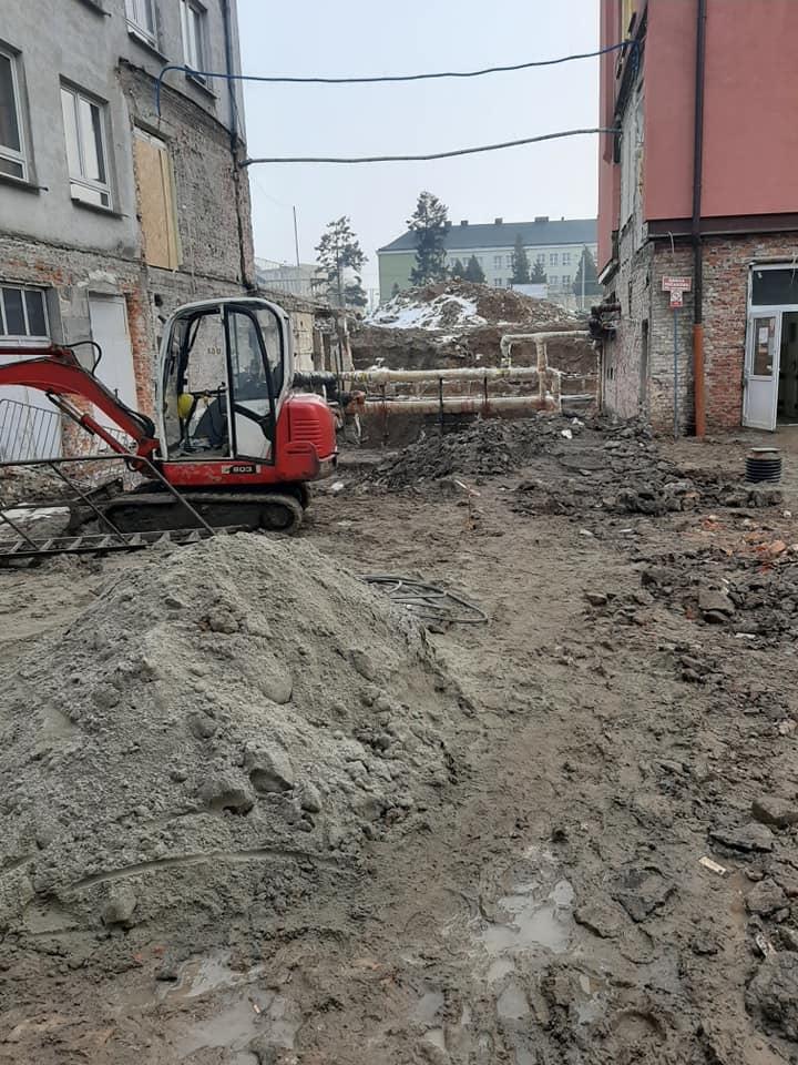 ŁUKÓW. Trwa budowa OIOM-u. Zobacz postęp prac  (GALERIA) - Zdjęcie główne