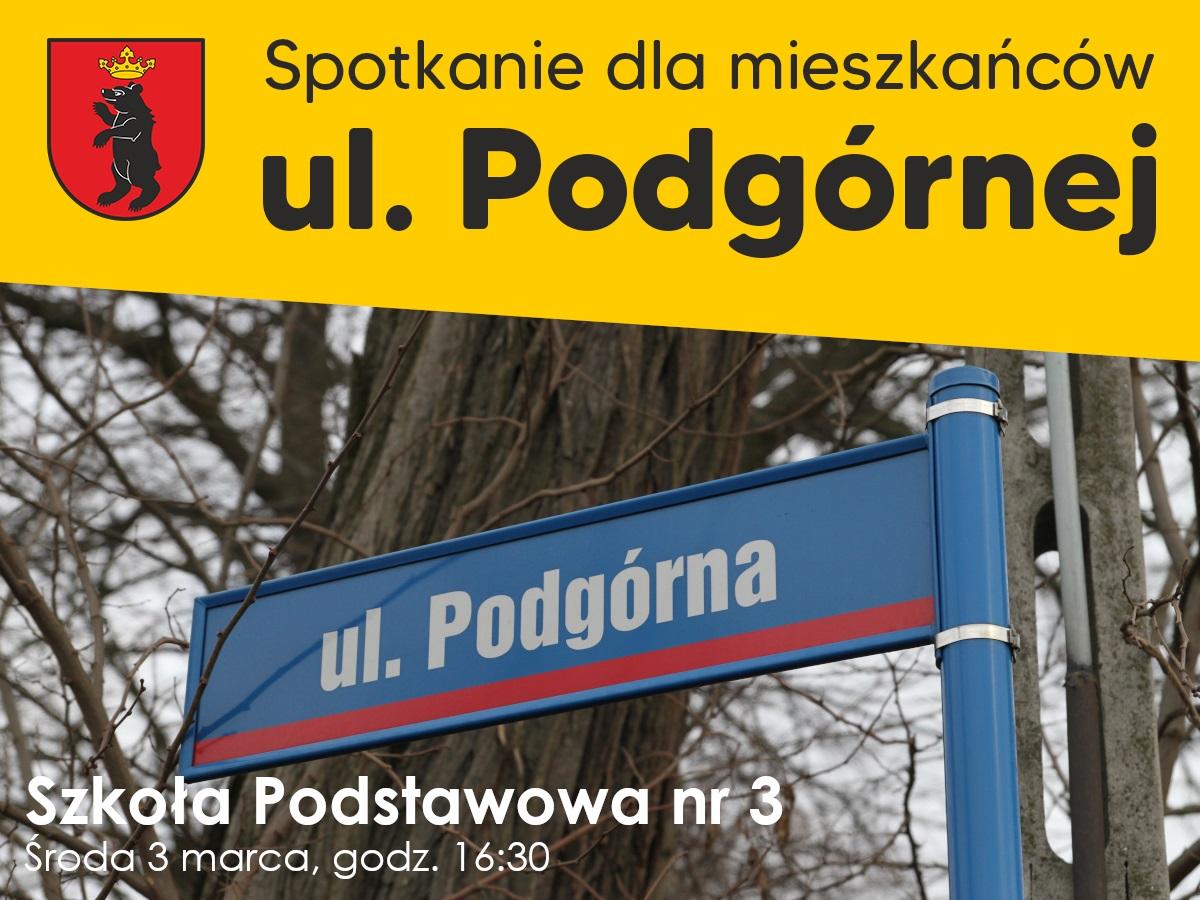 ŁUKÓW Spotkanie dla mieszkańców ul. Podgórnej - Zdjęcie główne