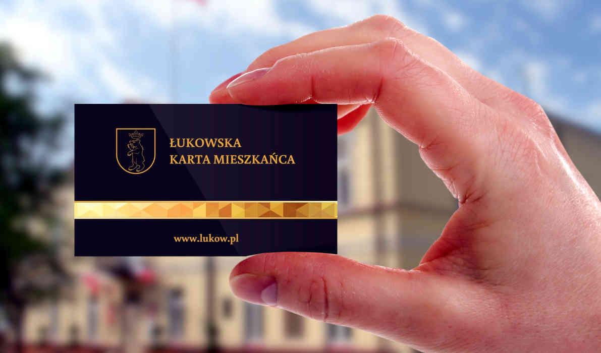 Łukowska Karta Miejska. Przedłużono ważność obowiązywania - Zdjęcie główne