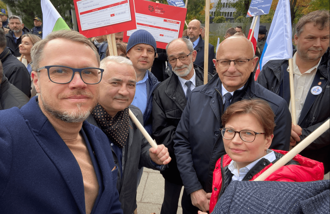 Kraj: Samorządowcy protestują przeciwko Polskiemu Ładowi. Wśród nich są osoby z Lubelszczyzny - Zdjęcie główne