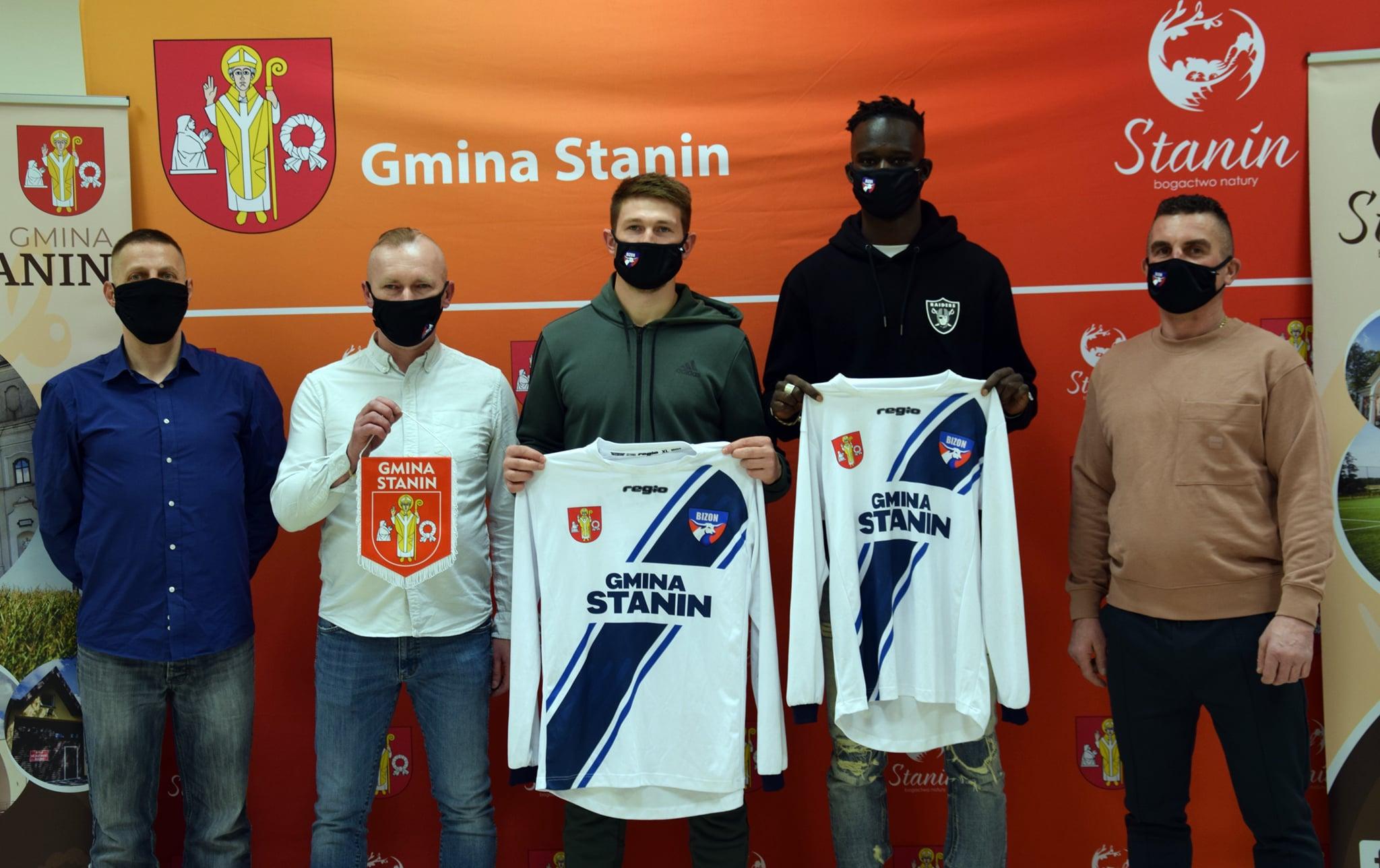 STANIN Bizon Jeleniec zakontraktował zagranicznych piłkarzy  - Zdjęcie główne