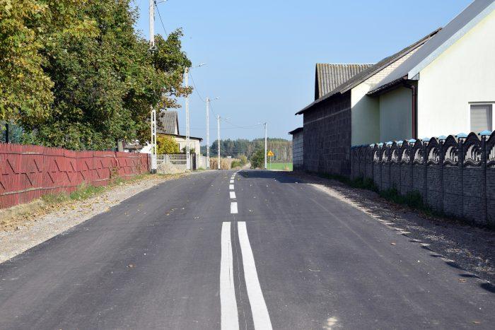 GM STANIN Droga w Zastawiu oddana do użytku - Zdjęcie główne