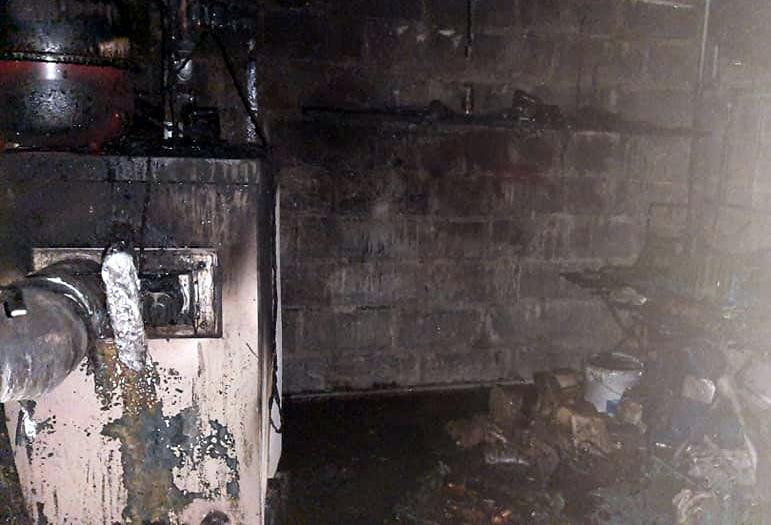 Pożar z Zagoździu. Interweniowało 5 zastępów  - Zdjęcie główne