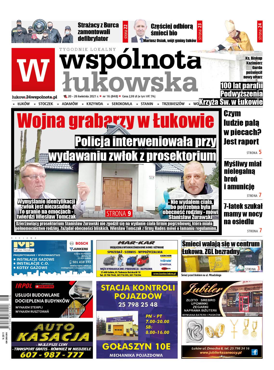 Najnowszy numer Wspólnoty Łukowska - Zdjęcie główne