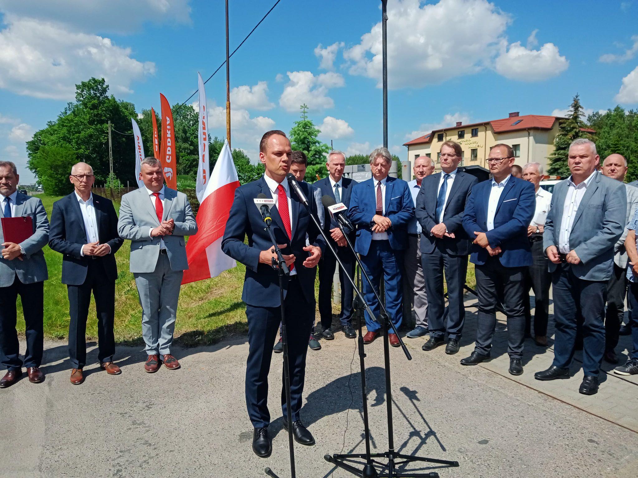 ŁUKÓW. Duża obwodnica staje się faktem. Są zapewnienia ministra (WIDEO) - Zdjęcie główne