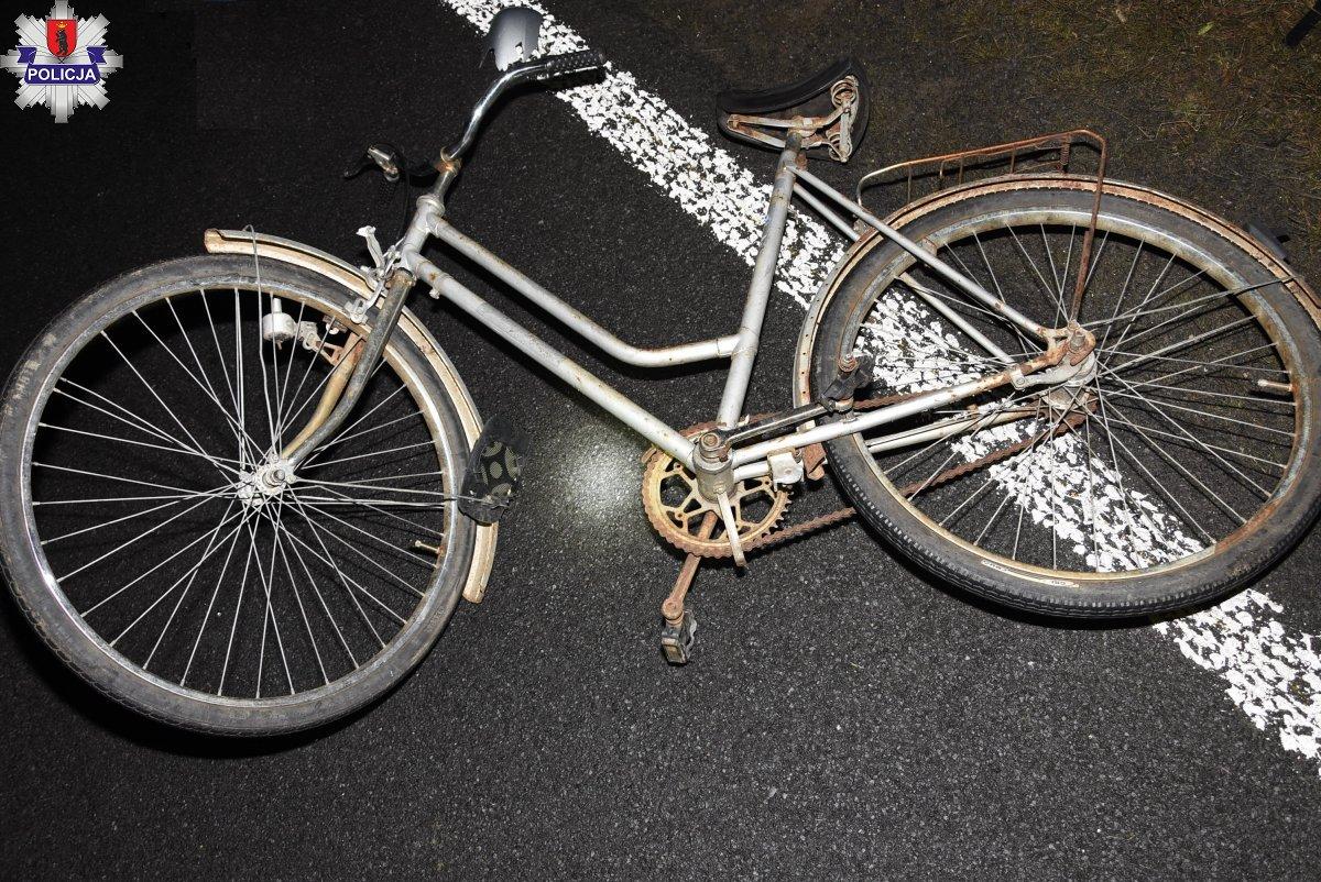 Pijany na rowerze jechał bez odblasków  - Zdjęcie główne