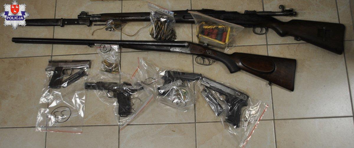 GMINA ADAMÓW Myśliwy miał nielegalną broń i amunicję - Zdjęcie główne