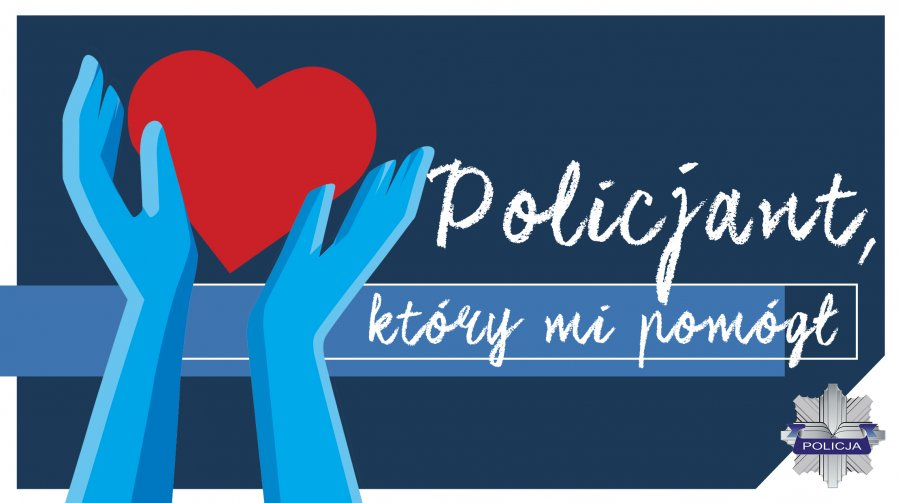 """TRWA KONKURS """"POLICJANT, KTÓRY MI POMÓGŁ"""" - Zdjęcie główne"""