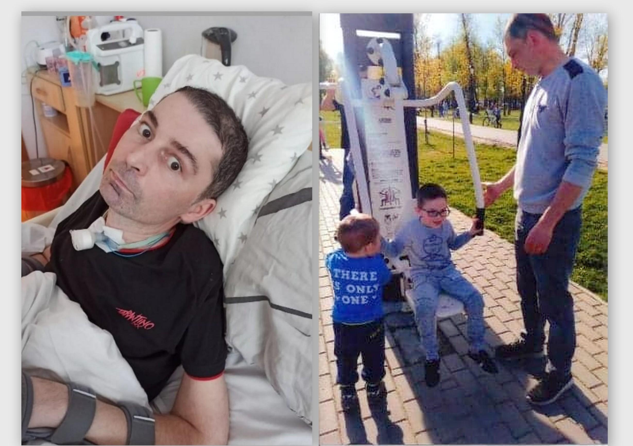 Pomóżmy obudzić tatę czterech synów! Grzegorz potrzebuje rehabilitacji - Zdjęcie główne