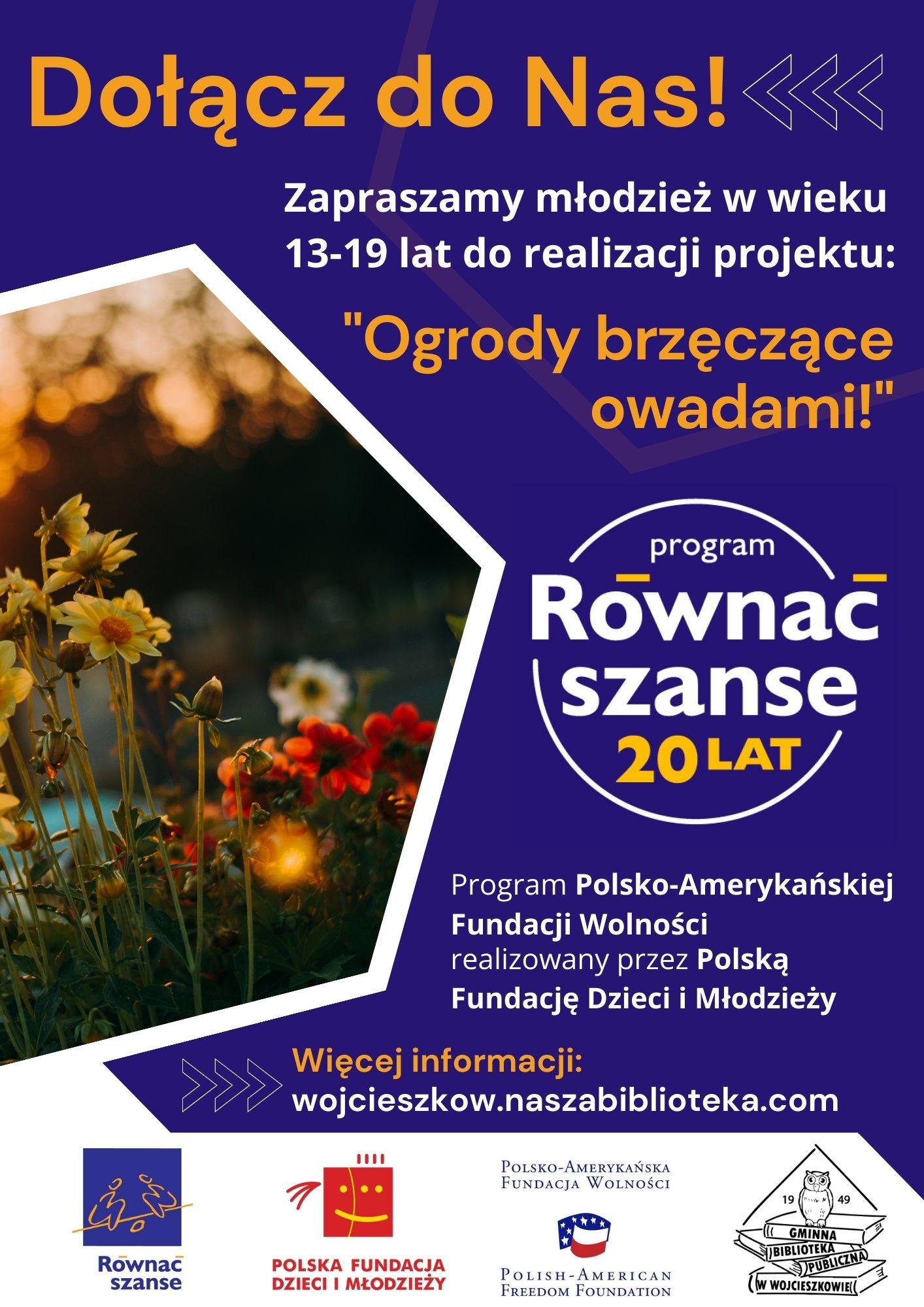 GMINA WOJCIESZKÓW Weź udział w projekcie biblioteki w Wojcieszkowie - Zdjęcie główne