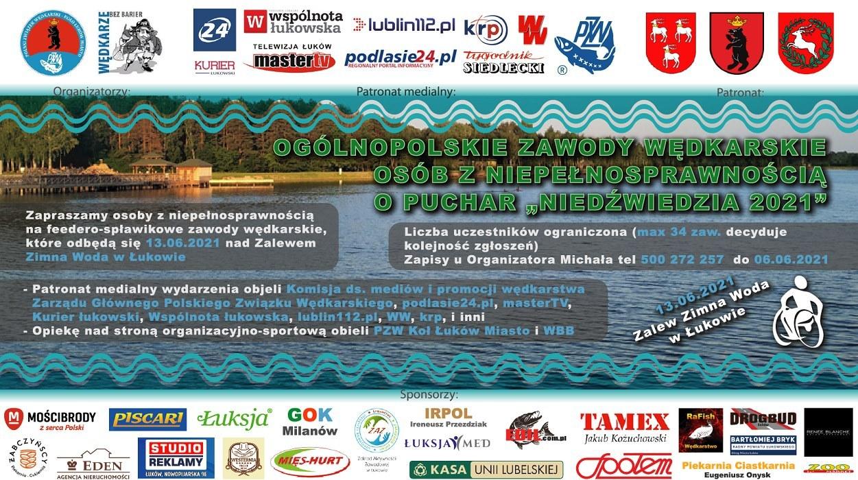 Puchar Niedźwiedzia  - Ogólnopolskie zawody wędkarskie dla osób niepełnosprawnych - Zdjęcie główne
