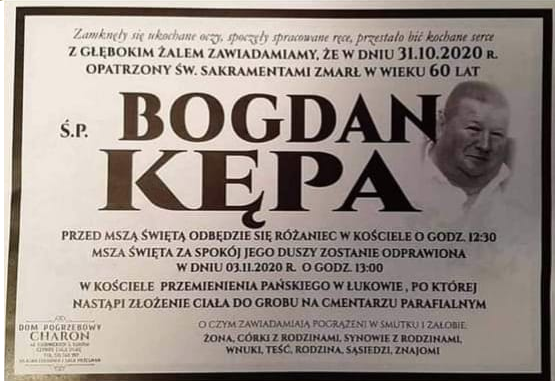 Zmarł Bogdan Kępa. Miał 60 lat  - Zdjęcie główne